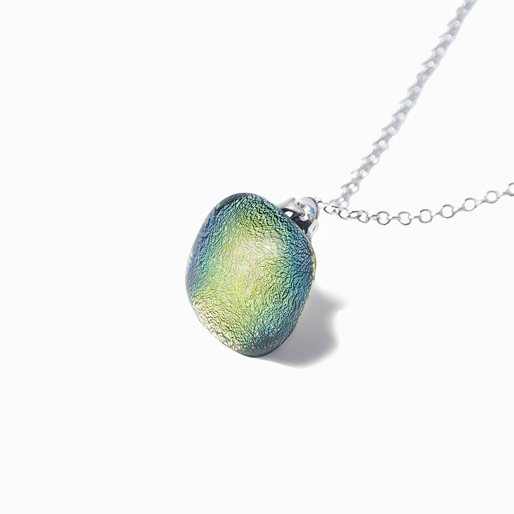 Microcosmoses NECKLACE NECKLACE PARME ~ LIGHT GREEN | SQUIRCLE | REFLET