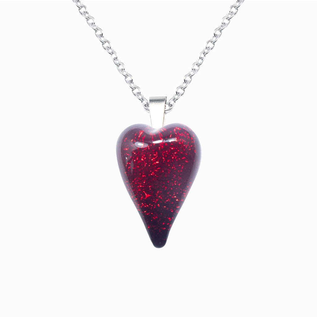 Microcosmoses NECKLACE NECKLACE RED | HEART | REFLET