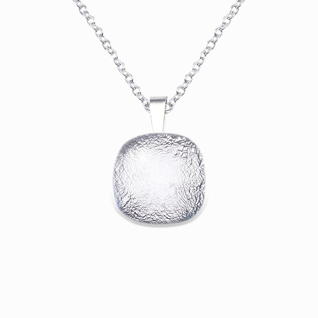Microcosmoses NECKLACE NECKLACE SILVER PEARL ~ AQUA | SQUIRCLE | REFLET