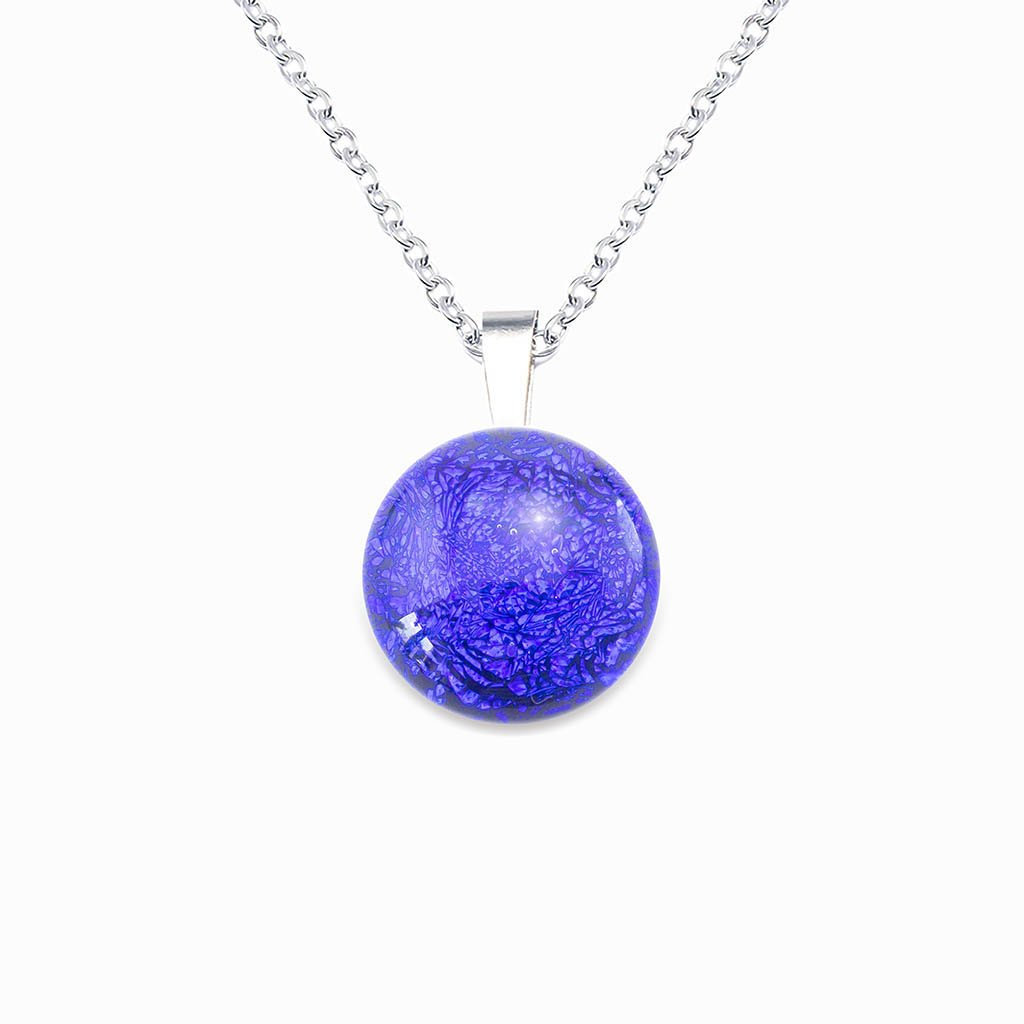 Microcosmoses NECKLACE NECKLACE STARRY BLUE ~ INDIGO | ECLIPSE | REFLET