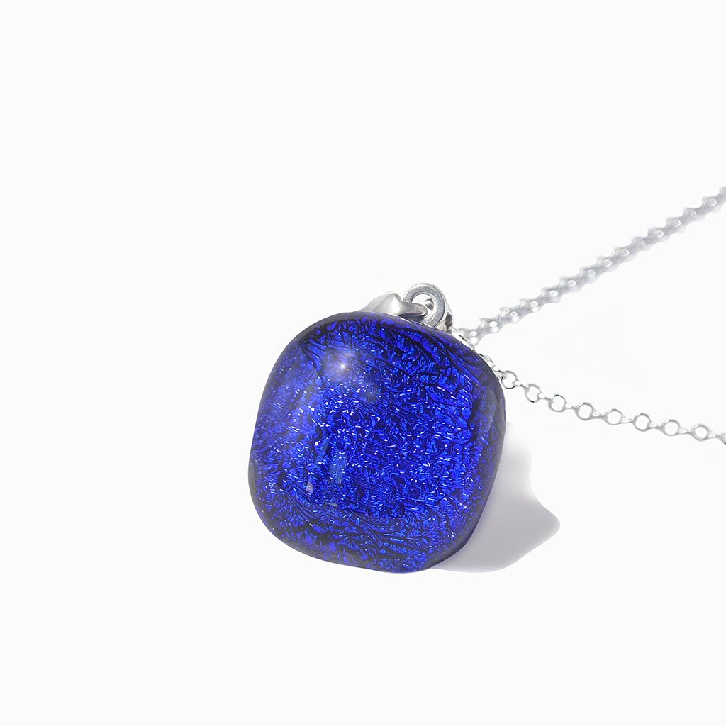 Microcosmoses NECKLACE NECKLACE STARRY BLUE ~ INDIGO | SQUIRCLE | REFLET
