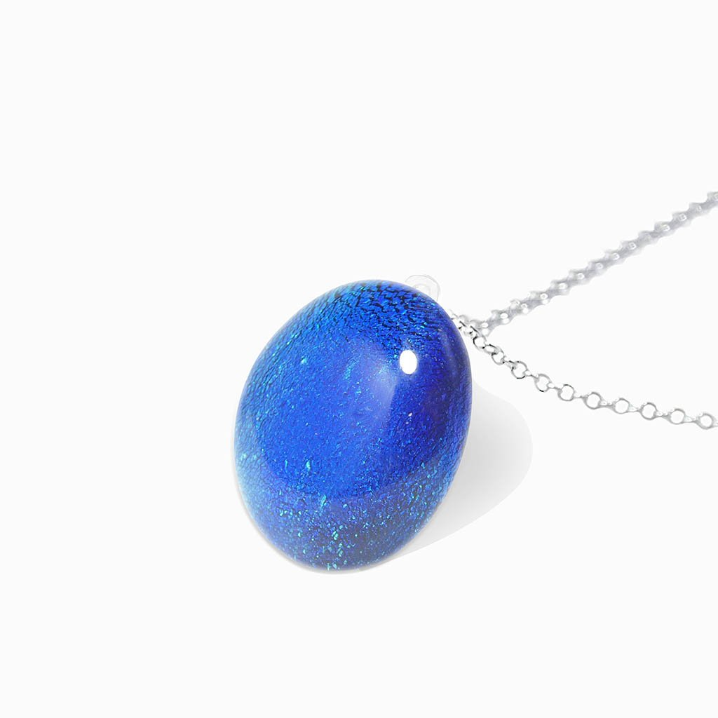Microcosmoses NECKLACE NECKLACE TURQUOISE ~ NIGHT BLUE | ECLIPSE | REFLET