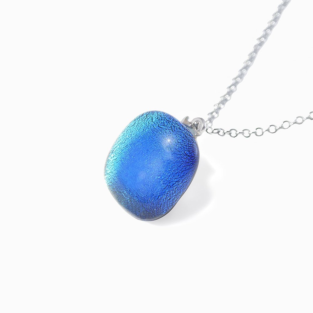 Microcosmoses NECKLACE NECKLACE TURQUOISE ~ NIGHT BLUE | SQUIRCLE | REFLET