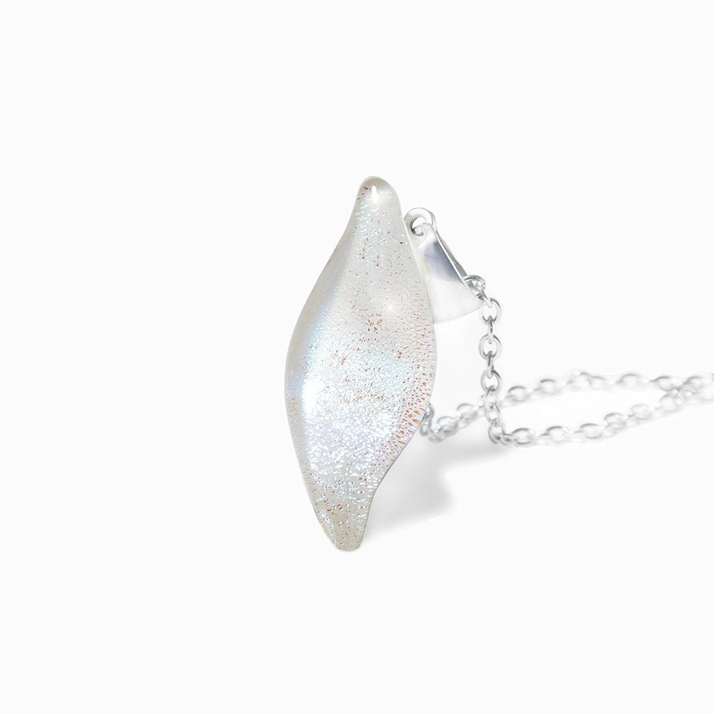 Microcosmoses NECKLACE NECKLACE WHITE RIVER | ALMOND | REFLET