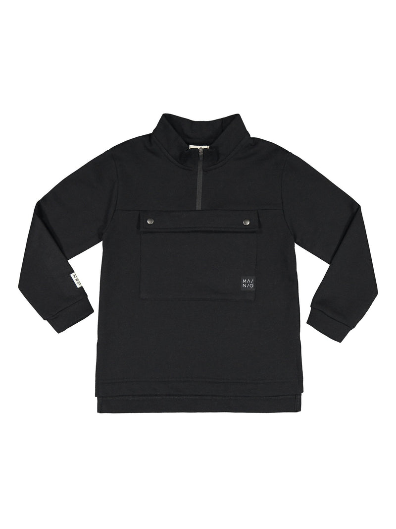 Pure Anorak Sweatshirt, black