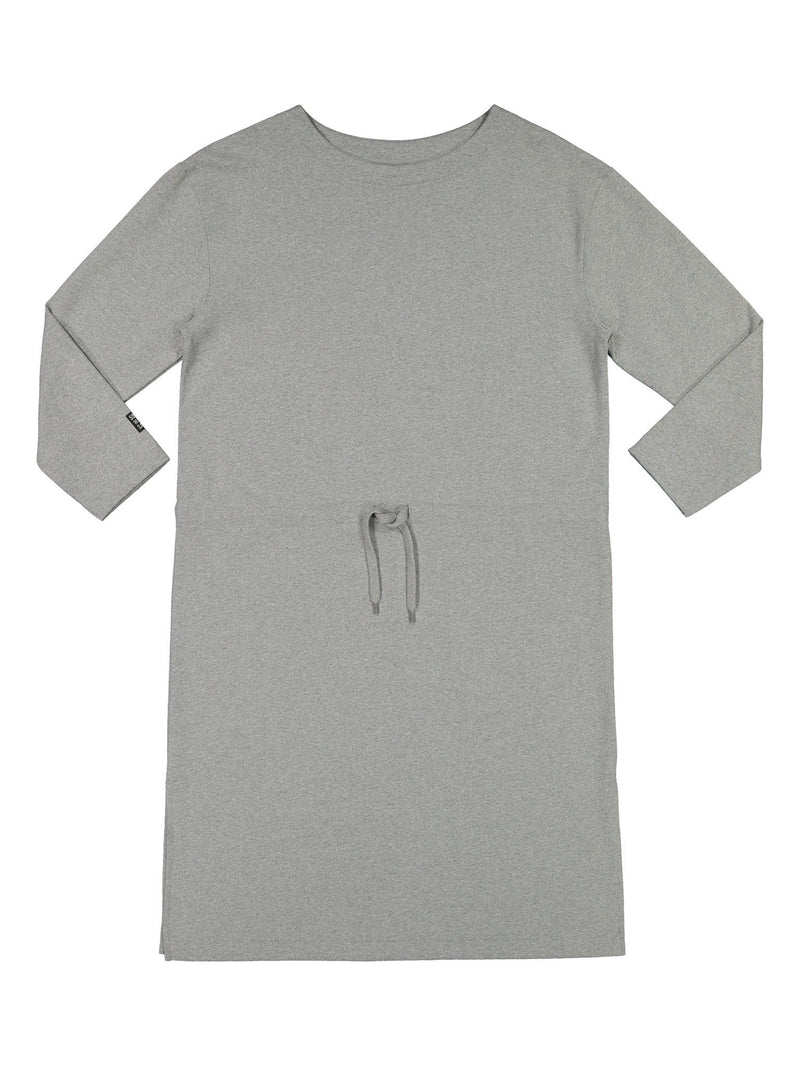 Women's Pure Sweat Dress, light grey melange
