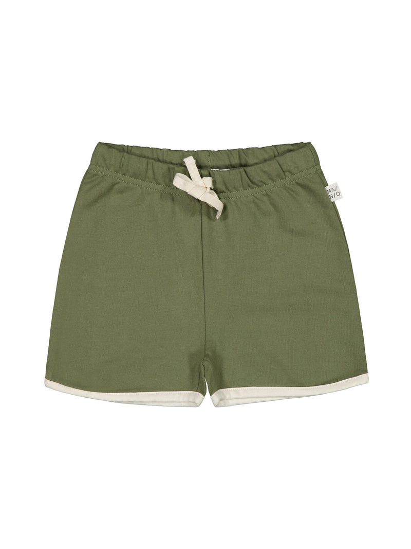 Sporty Sweat Shorts, bluish olive