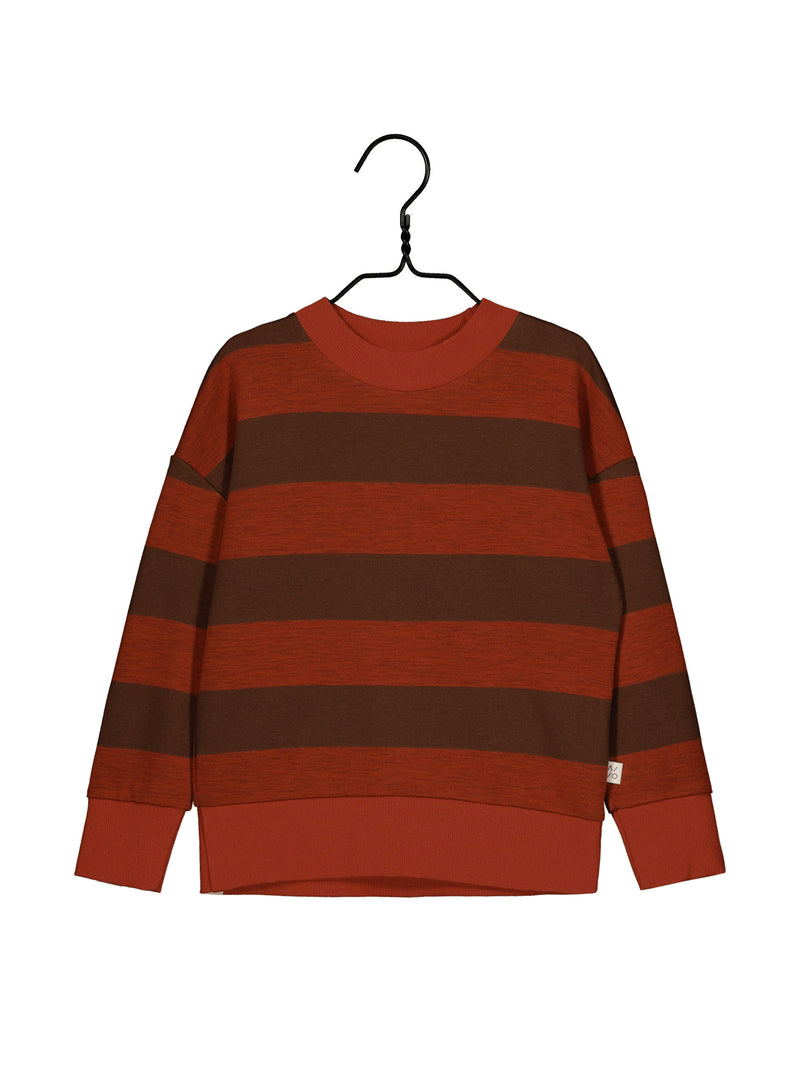 Field Knit Shirt, Paprika/Cinnamon