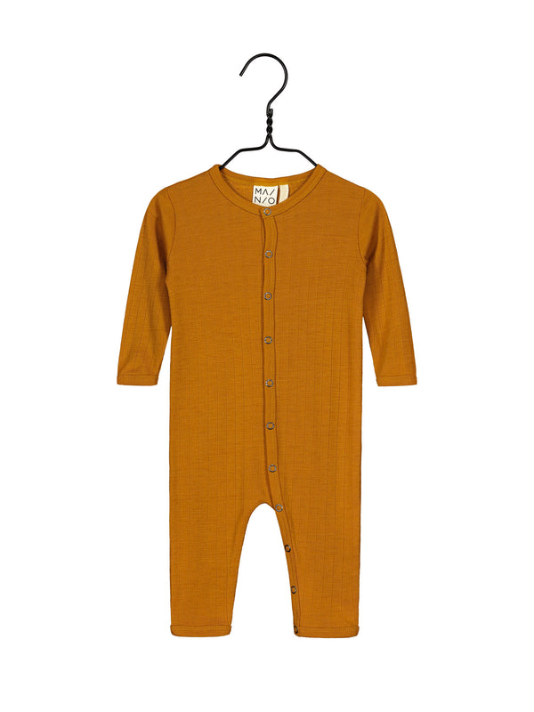 Merino Wool One-piece, Turmeric