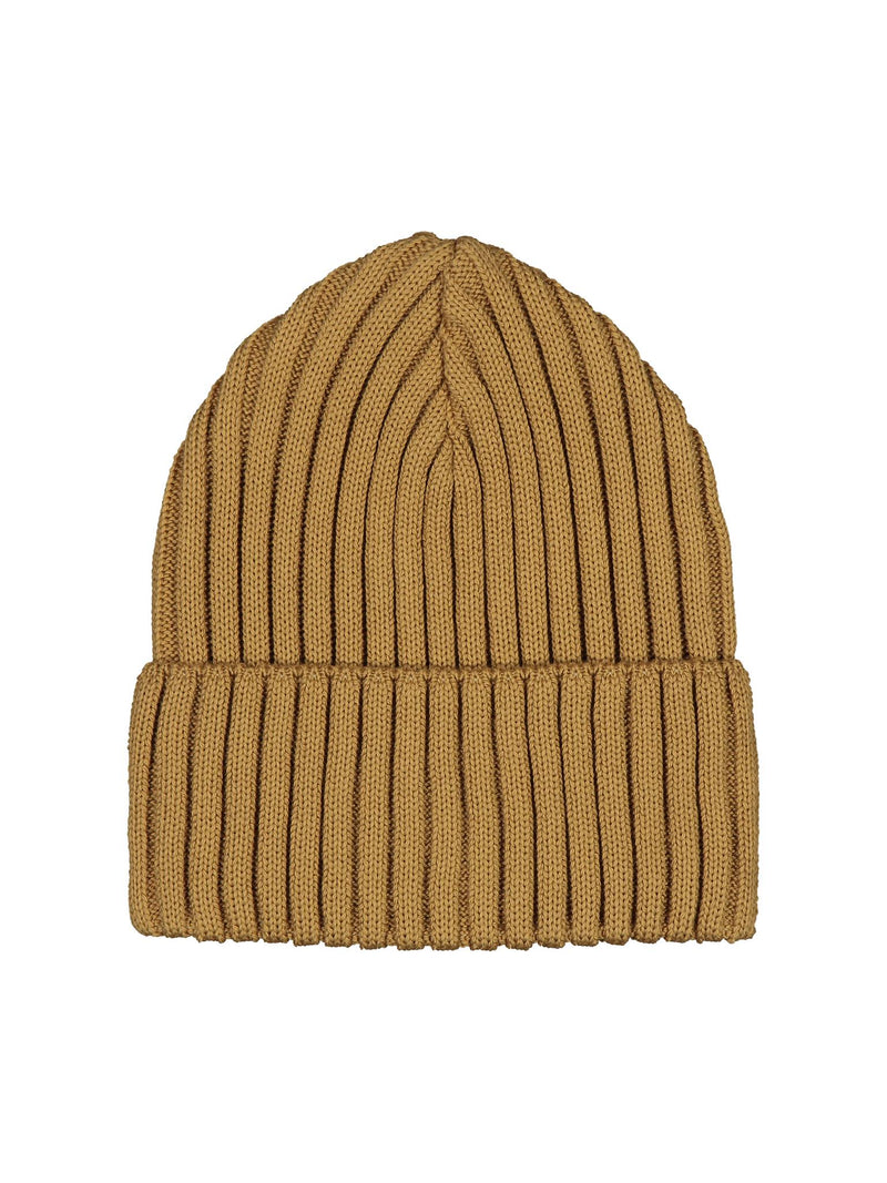 Rib beanie, brown sugar