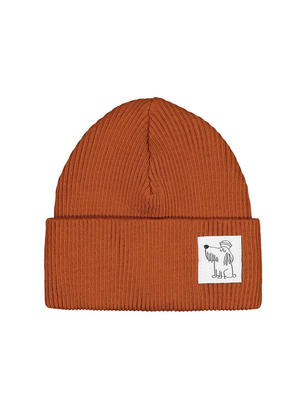Fisherman Beanie, rusty red