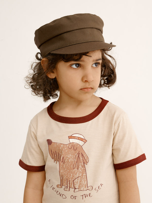 Skipper Cap, brown