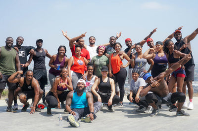 ISSA FITCAMP LA: CULVER CITY STAIRS RECAP