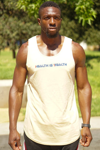 Health Is Wealth Premium Cloth Tank