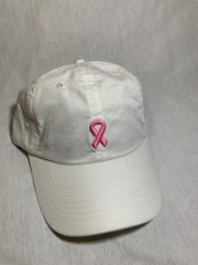 Pink Ribbon Dad Hat
