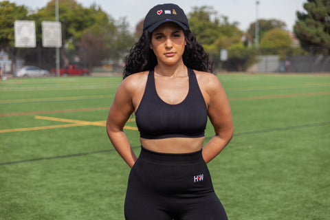 Black Performance Sports Bra