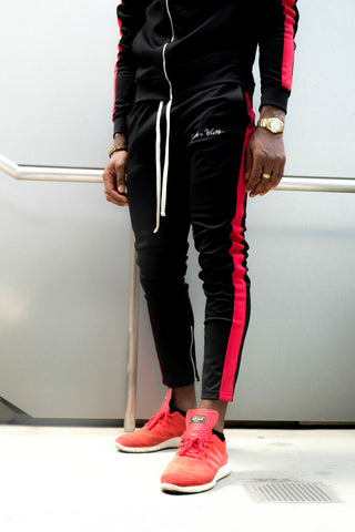 BRed (Black/Red) Track Pants