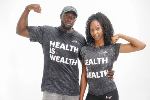 Health Is Wealth Unisex T-Shirt