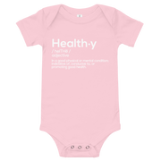 HEALTHY Definition Baby Bodysuit