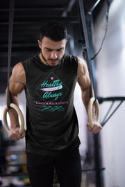 Healthy Always Waves - Men's Sleeveless Performance Tee