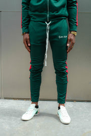 Italiano (Green/Red) Track Pants