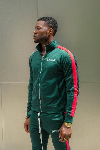 Italiano (Green/Red) Track Jacket