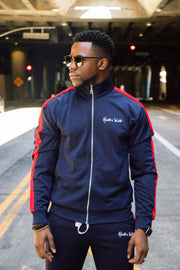 Midnight Blue Track Jacket