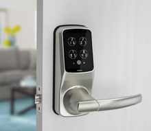Load image into Gallery viewer, Lockly Secure Plus Smart Lock - Satin Nickel