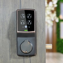 Load image into Gallery viewer, Lockly Secure Plus Smart Lock Deadbolt - Venetian Bronze