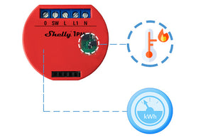 Shelly 1PM Wi-Fi Relay with Energy Monitoring
