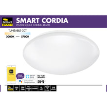 Load image into Gallery viewer, Brilliant Smart Cordia LED Ceiling Light Wi-Fi