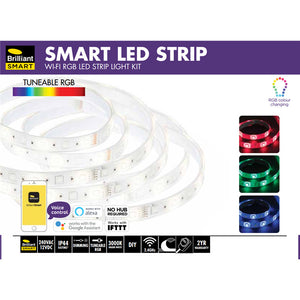 Brilliant Smart RGB Smart LED Light Strip - 2M