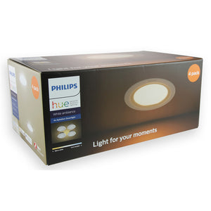 Philips Hue Aphelion Recessed Downlight - 4 Pack