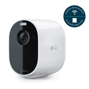 Arlo Essential Wire-Free Spotlight Camera - 2 Camera Kit with Smart Hub