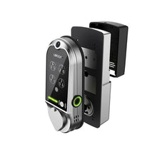 Load image into Gallery viewer, Lockly Vision Smart Lock with Video Doorbell - Matt Black