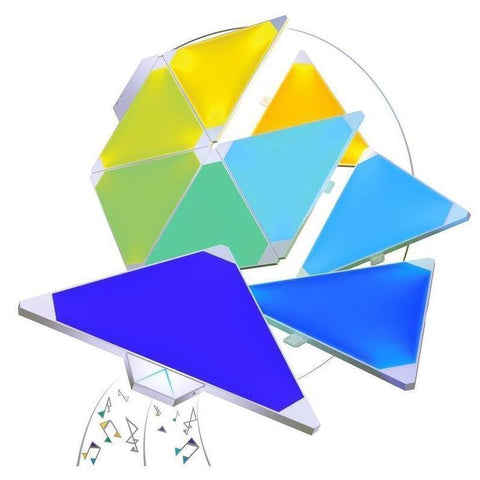 Nanoleaf Aurora Light Panels Smarter Kit (9 Panels)
