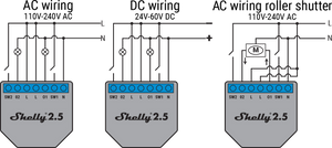 Shelly 2.5 - Double Relay