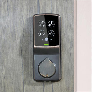 Lockly Secure Plus Smart Lock Deadbolt - Venetian Bronze