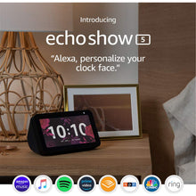 Load image into Gallery viewer, Echo Show 5 - Charcoal