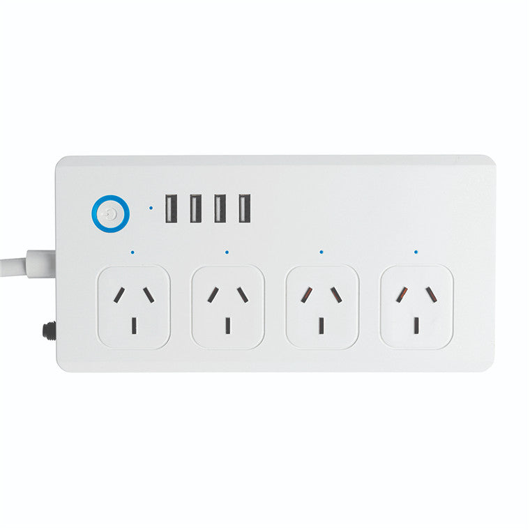 Brilliant Smart Smart Wi-Fi Powerboard with USB