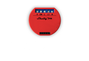 Shelly 1PM Wi-Fi Relay with Energy Monitoring - 5x Bundle