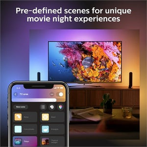 Philips Hue Play Light Bar Base Kit 2 Pack - White & Colour Ambiance