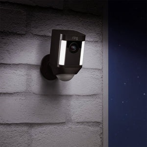 Ring Spotlight Wire-Free Camera - Black