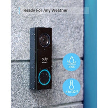 Load image into Gallery viewer, Eufy Video Doorbell 2K + Chime (Wired)