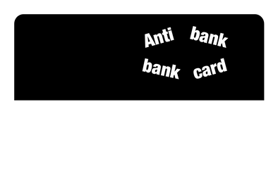 Bank Card Sticker