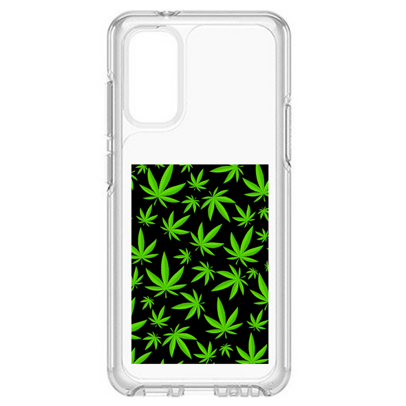Weed Cannabis Silicone Phone Case