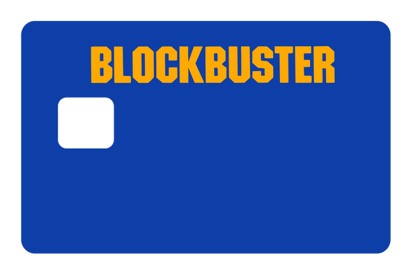 Blockbuster Credit Card Cover