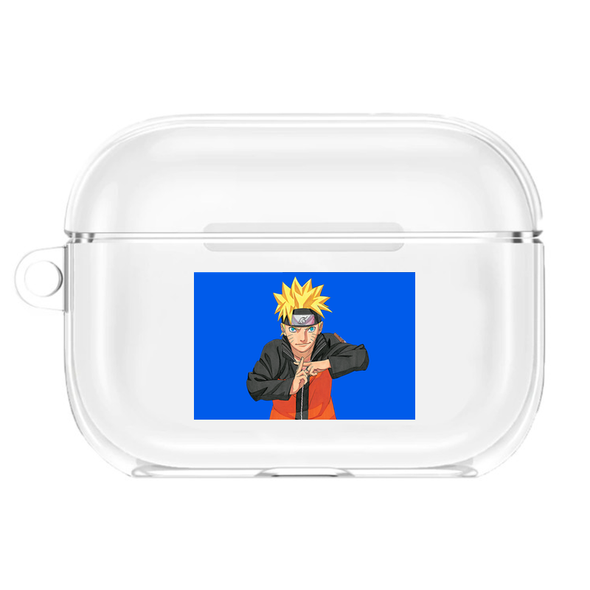 Naruto Airpods Pro Transparent Case
