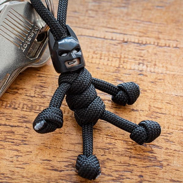 batman paracord buddy