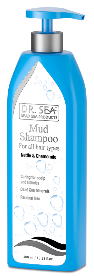 Dead Sea Mud Shampoo - for all hair types 死海泥防脱髮去頭屑洗髮露